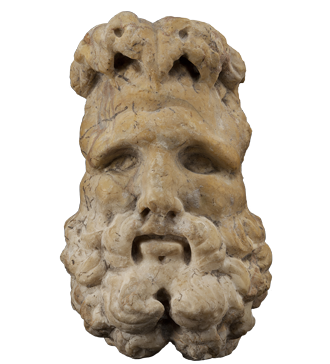 Head of Jupiter discovered on Bribirska glavica; 1st century